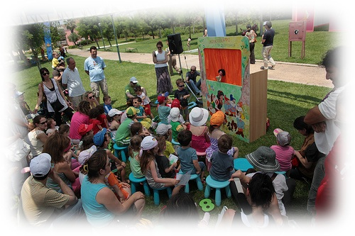 Punch and Judy is a classic interactive story